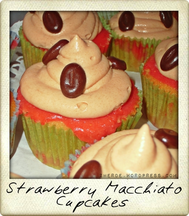 Strawberry Macchiato Cupcakes 1