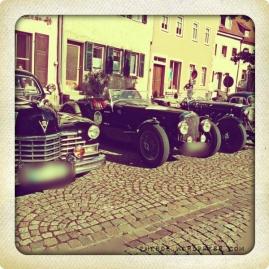 Oldtimer-Rallye Endpunkt Münnerstadt
