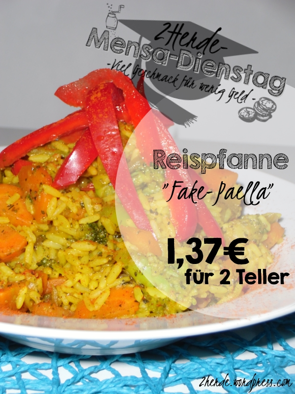 Mensa-Dienstag 5 Reispfanne Fake-Paella 2